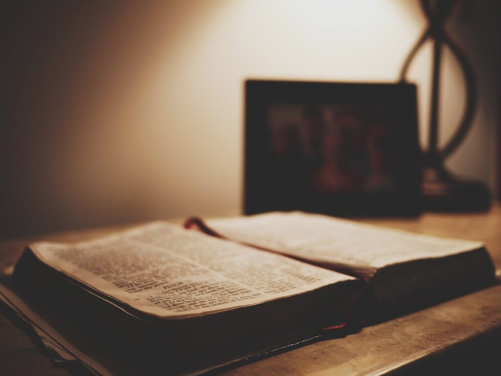 book, bible, scripture